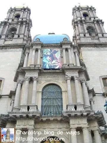 Exterior iglesia centro Leon