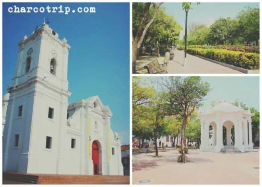 Catedral de Santa Marta y plazas