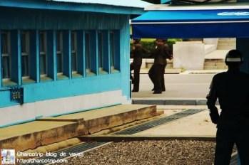 Soldados de Corea del Norte marchando
