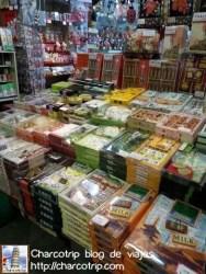 También había tiendas de dulces