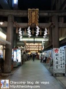 Y después un templo entre las tiendas