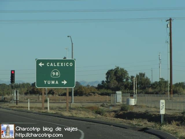 Nos vamos hacia Yuma!