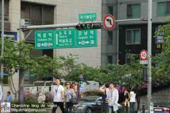 Calles Gangnam