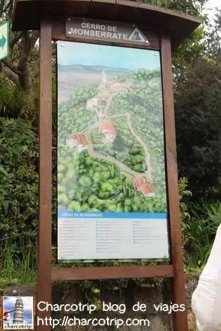Mapa Monserrate