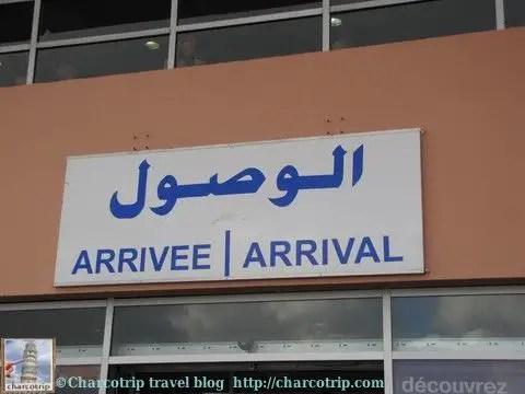 Las llegadas