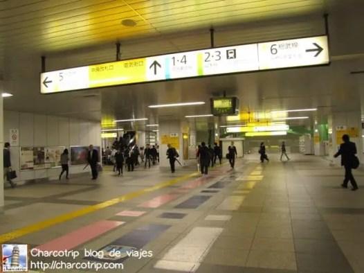 Metro con poca gente