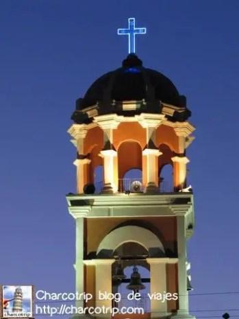 Y aquí esta la cúpula iluminada