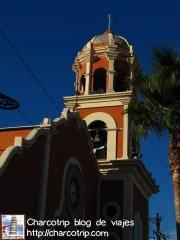 La cúpula, que mas tarde descubriría que se iluminaba en la noche