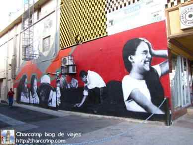 Un mural me imagino representando a la gente de Mexicali