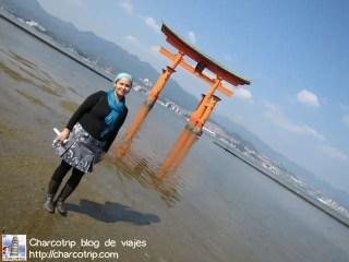Imposible resistirse a las ganas de tomarse fotos con el torii