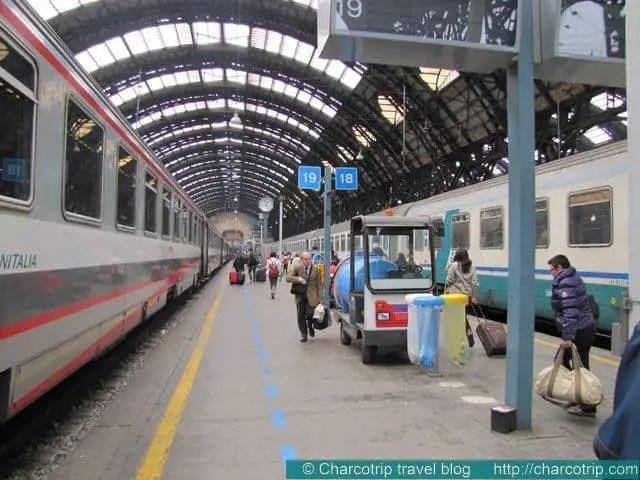 La estación de Milano Centrale