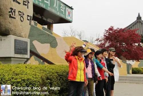 Habia tours de señoras Coreanas