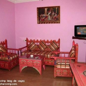 Sala en la habitacion