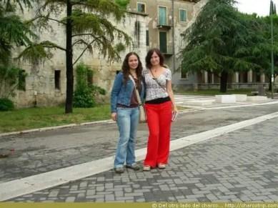 Mi amiga Olena y yo