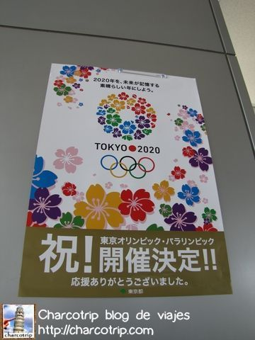 Posters alusivos a los juegos olimpicos de 2020 que se celebraran en Tokio