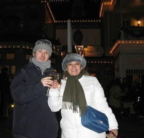 Celebrando en Disneyland Paris por Miruta