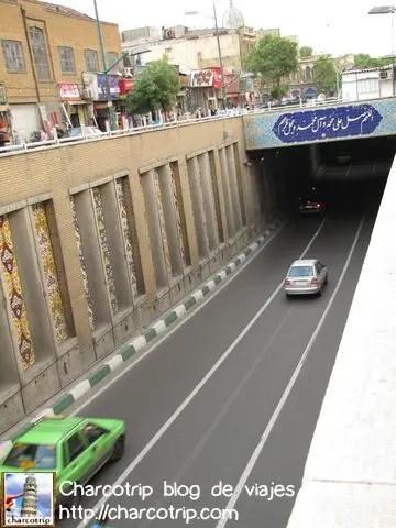 Paso a desnivel irani