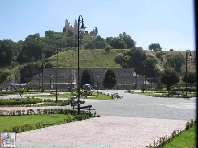 La piramide de Cholula