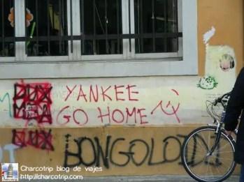 Grafitis anti USA