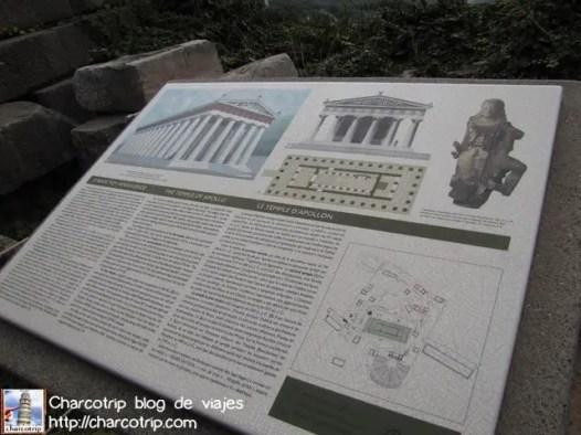 Lo que fue el Templo de Apolo