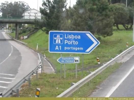 portugal letrero transito