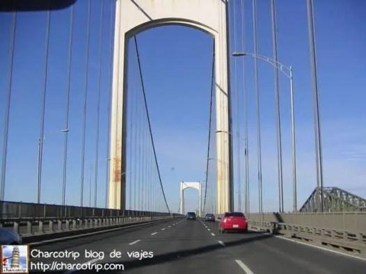Puente que vimos ya casi llegando