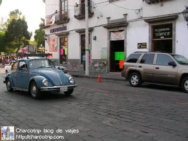 Caminando por las calles de Queretaro