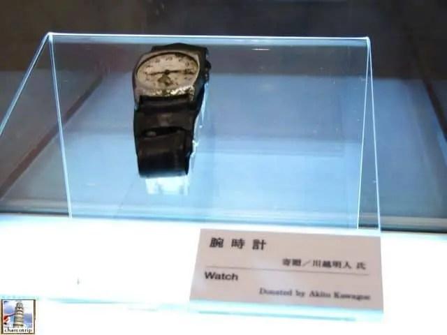 reloj museo hiroshima