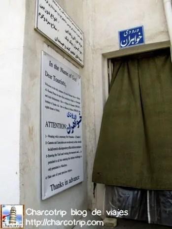 shiraz aramgah restricciones