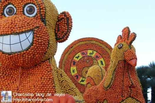 Figuras del horóscopo chino no podían faltar