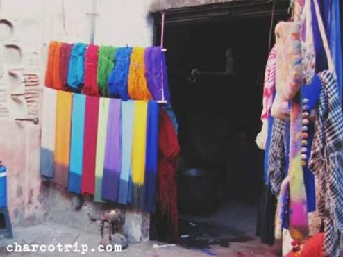 Las bufandas y los hilos