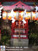 En el lugar había varios mini santuarios como este, una vez que entrabas en el templo ya te sentías fuera del bullicio del centro comercial.