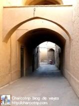 Uno de los muchos mini tuneles del centro