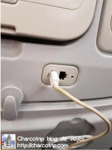 Salida USB