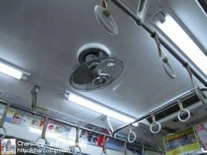 Me hizo gracia el sistema de ventilación del vagón de metro XD