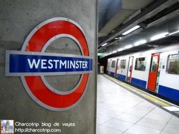 Estación de metro de Westminster