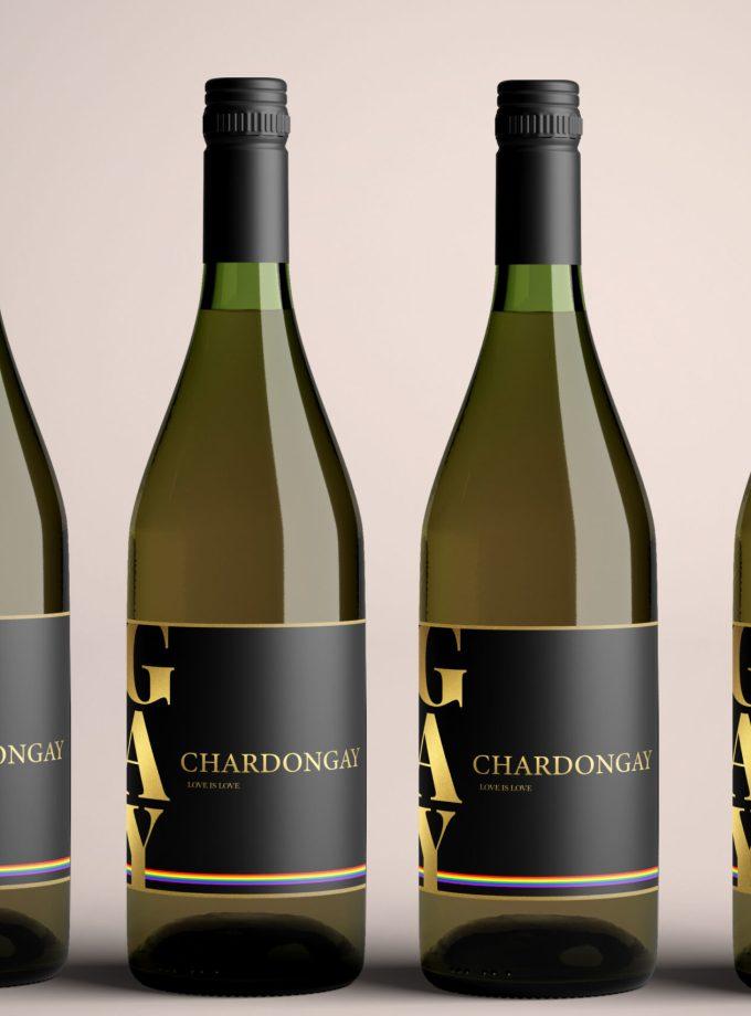 6 flessen Chardongay wijn Chardonnay
