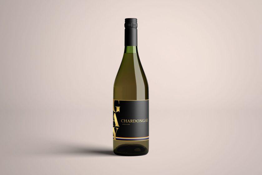 1 bottle chardongay wijn chardonnay