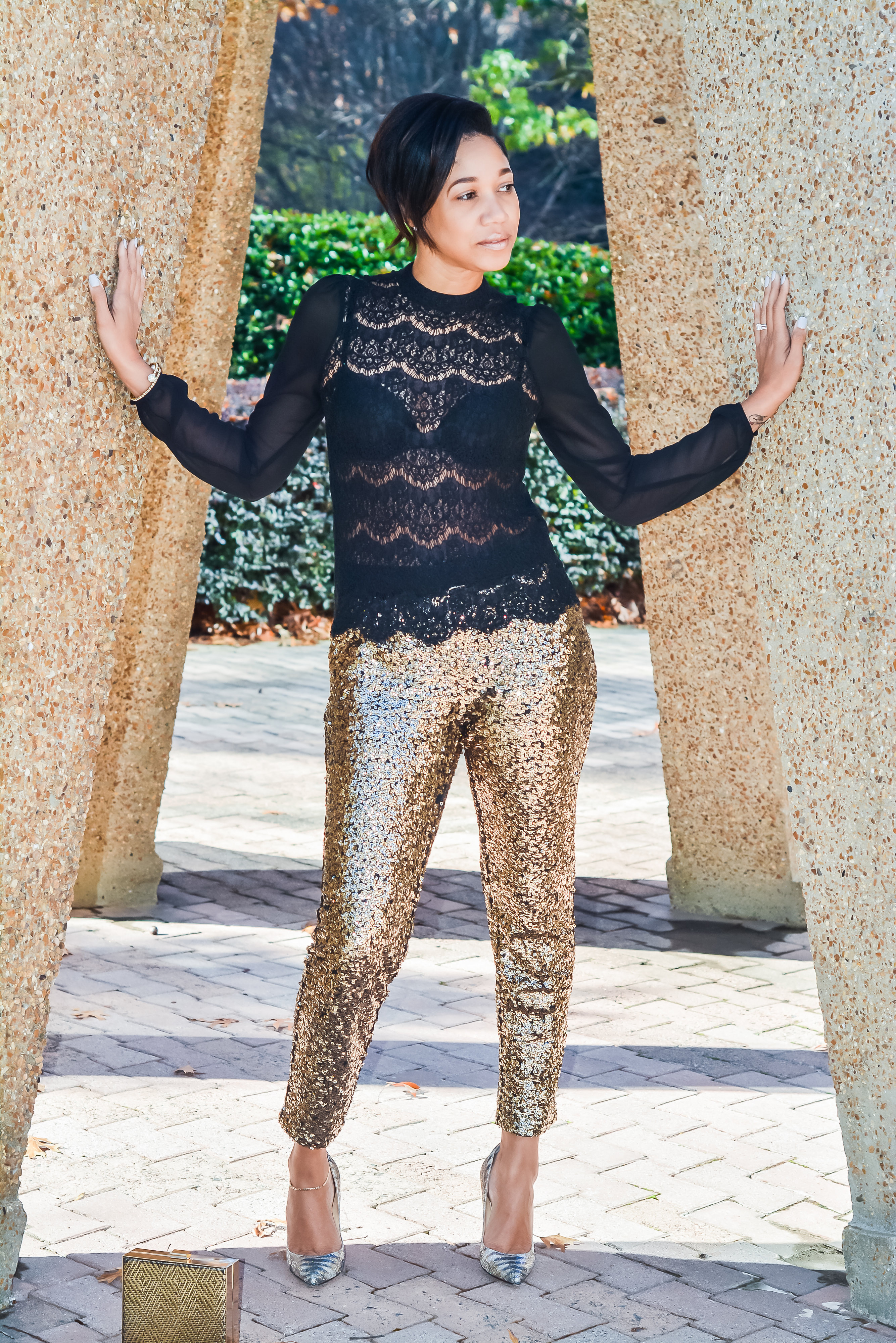 sequin pants_chareelenee