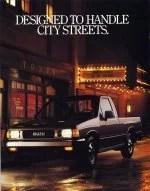 Inside Cover 1988 Isuzu Pickup Brochure
