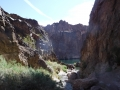 Gold Strike Canyon From the Hot Springs Pool