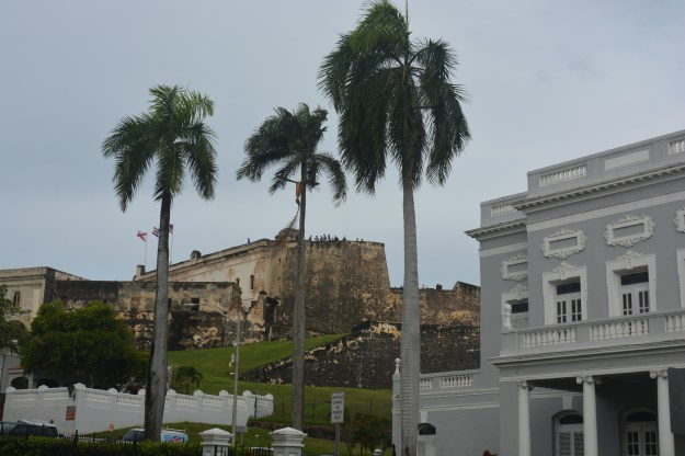 View of Castillo de San Cristobal From San Juan