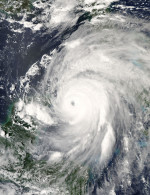 Hurricane Ivan on 13 Sept 2004