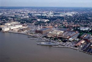 Aerial View of Washington Navy Yard