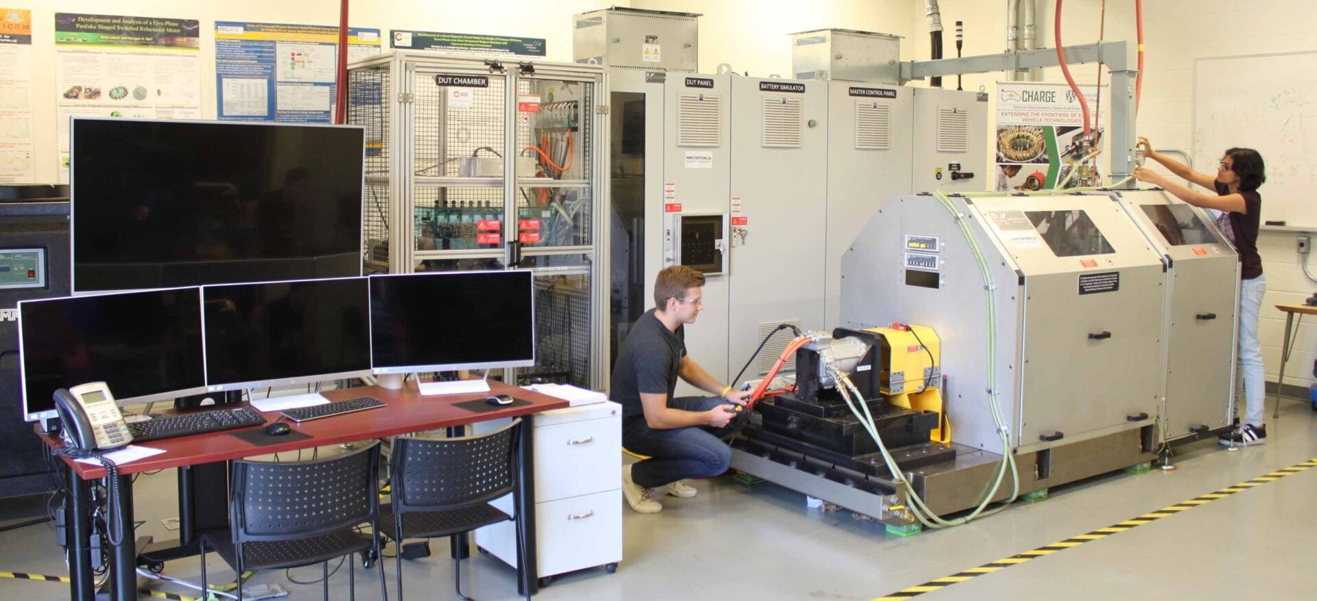 Electric Vehicle Powertrain Components and Systems Testing