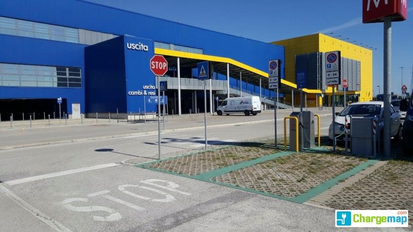Hpc Enel Via Tolemaide 140 Parcheggio Ikea Rimini Quick