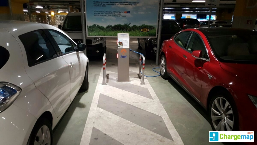 Ikea Brescia Roncadelle Charging Station In Roncadelle