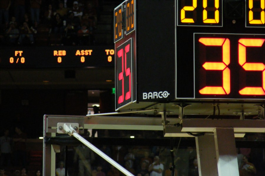 It's Time for a Shot Clock
