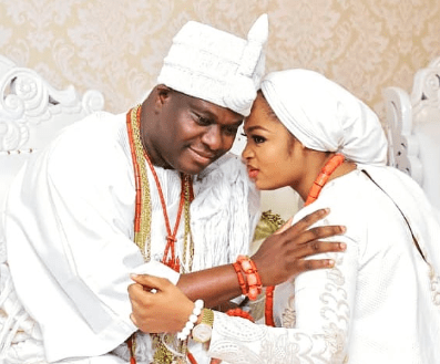 All is in order: Olori Prophetess Naomi, reacts to rumors that her marriage has crashed.