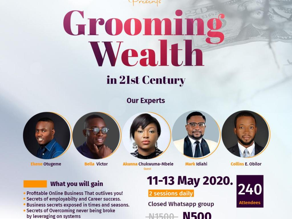 #AD: Grooming Wealth Expo (all the value you need and more…)